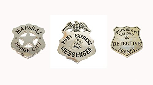 Metal Badges - Set Of Three ()
