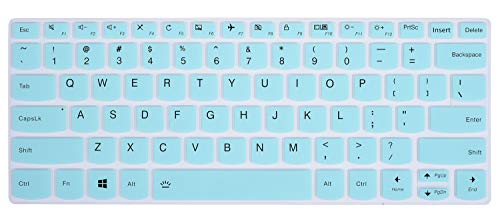 Keyboard Cover Compatible Lenovo Yoga 720/730 13.3 inch, Yoga 730 15.6 inch, Yoga 720 12.5 inch, Lenovo Yoga 920 C930 13.9 inch Soft Silicone Protective Skin, Mint Green