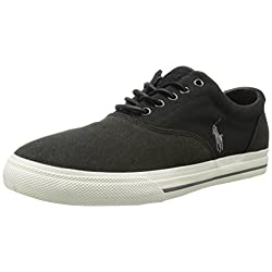 Polo Ralph Lauren Men's Vaughn Saddle Fashion Sneaker