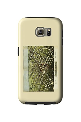 westfield-massachusetts-panoramic-map-galaxy-s6-cell-phone-case-tough