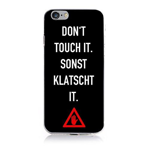 YW&F iPhone 7 Plus Dein Case - Don't touch