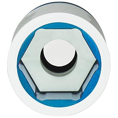 Titan 21117 1/2-Inch Drive x 17mm Non-marring Impact Extra-Long Lug Nut Socket: Automotive
