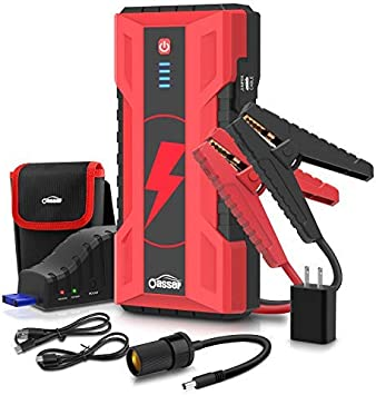 Arrancador de bater/ía port/átil para coche 15000 mAh GOOLOO 1200 A