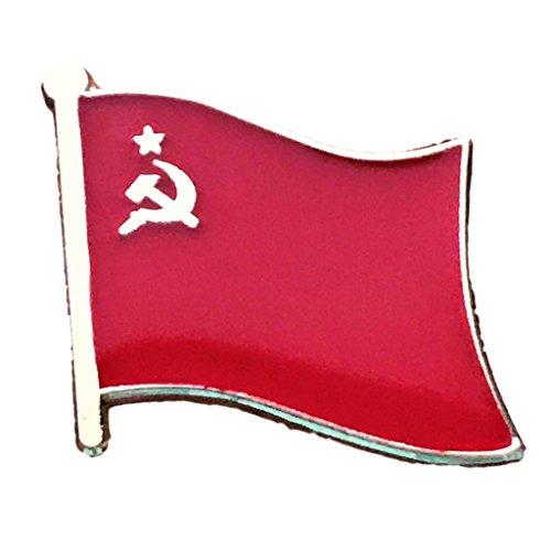 Backwoods Barnaby Unión Soviética URSS bandera Pin de solapa (ruso, 1.9x 1.9cm)