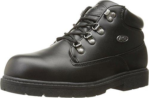 Lugz Men's Cargo Fashion Sneaker, Black Smooth, 8 D