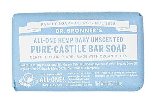 Dr Bronner - parfümfreie Babyseife 140g