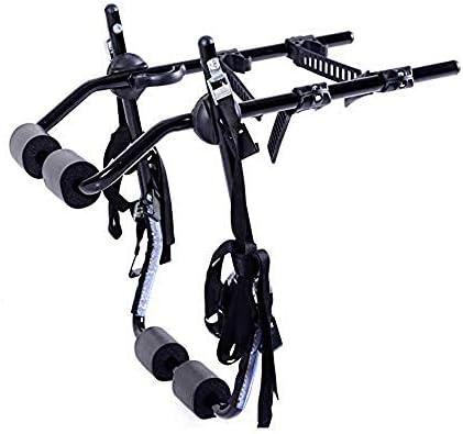 WVIVW Portabicicletas Porton Trasero Universal 4 Bicis 2 Bicicletas Portabicis para Coche con Correas Plegable Porta-Bicis Auto Soporte de Bici baca para Bicicletas Bike Acero Carga 60kg: Amazon.es: Hogar