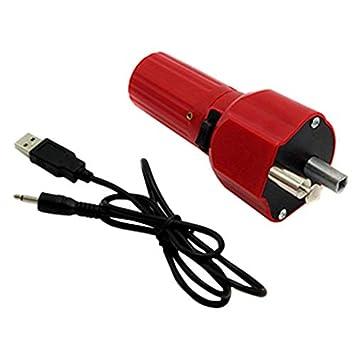 PQZATX Al Aire Libre Picnic USB Rotador del Motor De La ...
