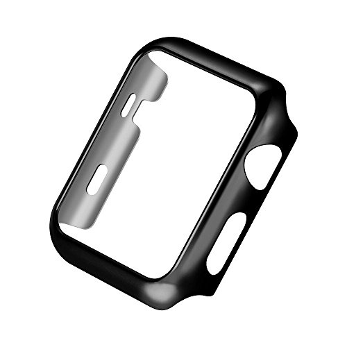 Price comparison product image Apple watch series 2 42mm Case Beryerbi Hard PC Super Thin Anti-Scrape Protective cover (series 2 42mm, black)