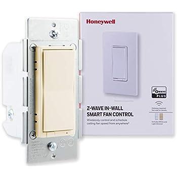 Honeywell Z Wave Plus Smart Fan Speed Control 3 Speed In