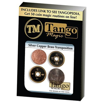 (Silver Copper Brass (Chinese Coin) Transposition by Tango)