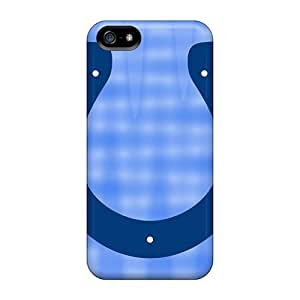 Best Hard Phone Cases For Iphone 5/5s (jZN4243NRdR) Allow Personal Design Vivid Indianapolis Colts Series