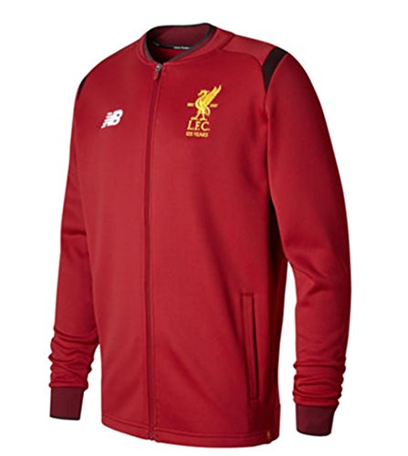 New Balance Liverpool FC ELITE TRAINING WALK OUT JACKET [Red Pepper] (Walk Out Soccer Jacket)