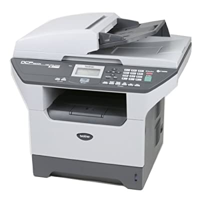 Brother DCP-8065DN Digital Copier and Printer (White/Black)