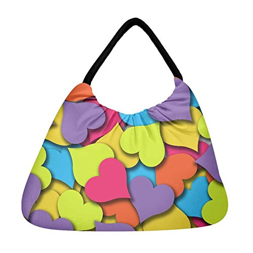 Snoogg Bolsa Mujer Multicolor De Playa rrwqPxzTH