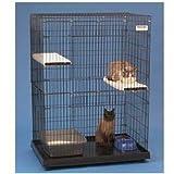 Kitty Condo 36 in. L x 24 in. W x 48 in. H, My Pet Supplies