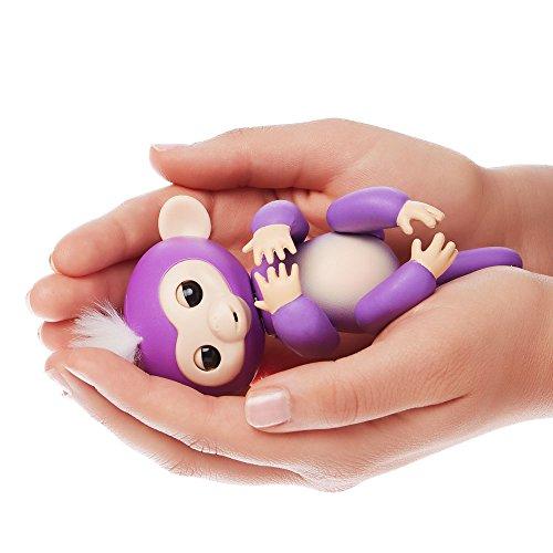 Fingerlings Interactive Baby Monkey Mia Purple With