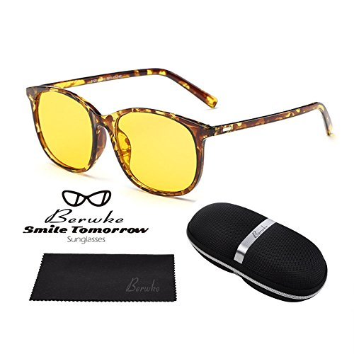 Night Driving Glasses Polarized Sunglasses Anti Glare Rainy Safe HD Night Vision - Polarized View