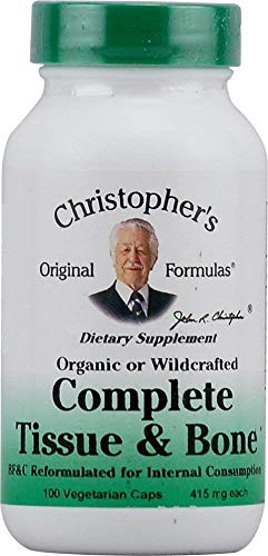 - Complete Tissue and Bone Formula Dr. Christopher 100 VCaps 440 MG EACH