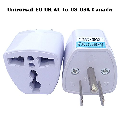 Price comparison product image Orcbee _Universal EU UK AU to US USA Canada AC Travel Power Plug Adapter Converter