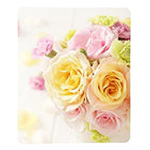 alfombrilla de ratón ramo de flores en un florero - rectangular - 23cm x 19 cm