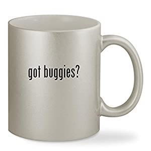 got buggies? - 11oz Silver Sturdy Ceramic Coffee Cup Mug