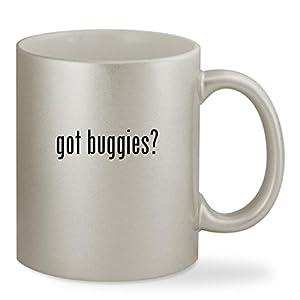 got buggies? - 11oz Silver Sturdy Ceramic Coffee Cup Mug