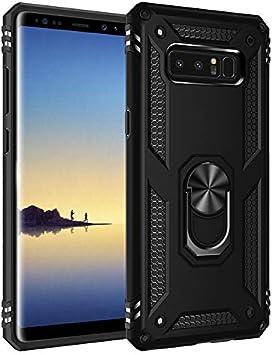 BestST Funda Samsung Galaxy Note 8 Armor Carcasa con 360 Anillo ...