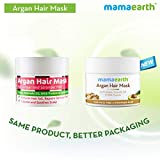 Mamaearth Anti-Hairfall Mask with Argan and Avocado Oil, Made in the Himalayas- Hypoallergenic, Toxin-free, All Natural with Organic Ingredients