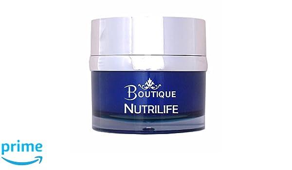 Boutique - Crema facial nutritiva Nutrilife, Multivitaminica con aceite de Jojoba y melatonina - 50 ml: Amazon.es: Belleza