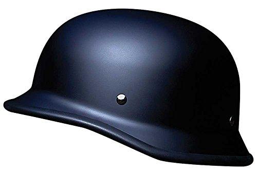 Voss Novelty Headwear Motorcycle Helmet - German Beanie (Diego Titanium San)