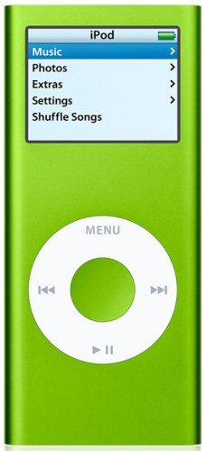 Apple iPod nano - 2nd generation - digital player - flash 4