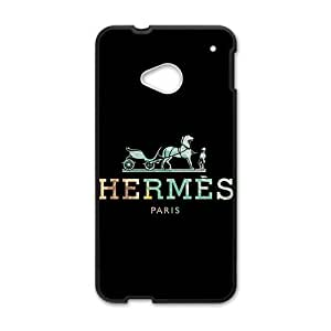 Happy Hermes design fashion cell phone case for HTC One M7