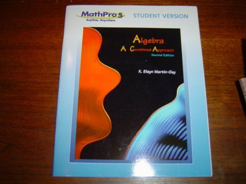 Algebra: Math Pro 5 Student