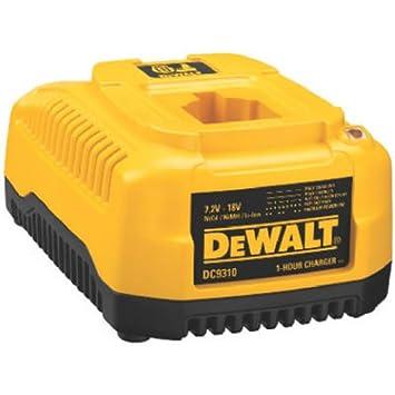 DeWalt dc9310 7.2-volt-18-volt Cargador de 1 hora: Amazon.es ...