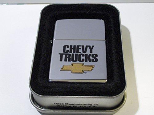 Zippo Chevrolet Chevy Trucks High Polish Chrome Lighter ()