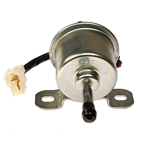 Mover Parts New Fuel Pump TFP 12V for U-SHIN Transistor with White Plug
