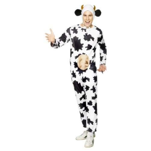 Mens Cow Costume For Fancy Dress