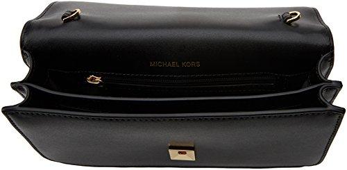 MICHAEL by Michael Kors Mott Negro Clutch Sac Negro (Black)
