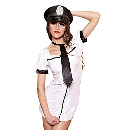 [Wanheyao Temperament Uniforms Temptation Policewoman Costumes Bar-playing Game] (Policewoman Costumes)