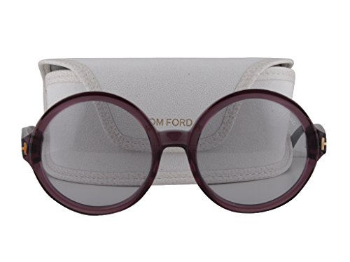Tom Ford Juliet FT0369 Shiny Bordeaux w/Smoke Violet Gradient - Anna Costa Sunglasses