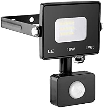 Lighting Ever 10-watt 800-Lumen Motion Sensor LED Flood Light
