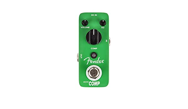 Fender Compressor · Pedal guitarra eléctrica: Amazon.es: Instrumentos musicales