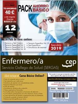 Pack de libros. Enfermero/a del Servicio Gallego de Salud SERGAS .: Amazon.es: CEP, Editorial: Libros