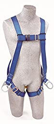 Protecta AB17520 Fall Protection Full Body Harness with Back and Side D Rings, Universal Size