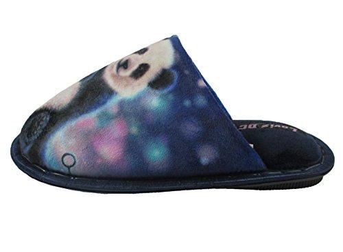 Cute slip Non Foam on Memory Velvet Loviz Women Slip 3d Dc Slippers Panda Warm Rabbit Animals For xCRA6qY