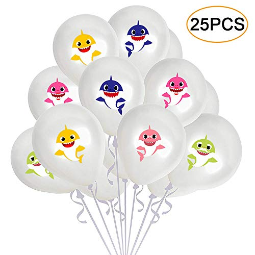 Know me Baby Shark Birthday Party Balloons Supplies Decorations - Under The Sea/Baby Shower/Baby Shark Theme Party Decorations