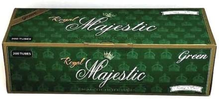 Royal Majestic 100MM Cigarette Tubes