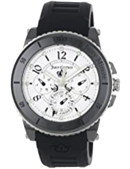 Juicy Couture Womens 1900756 Pedigree Black Ceramic Chronograph Watch