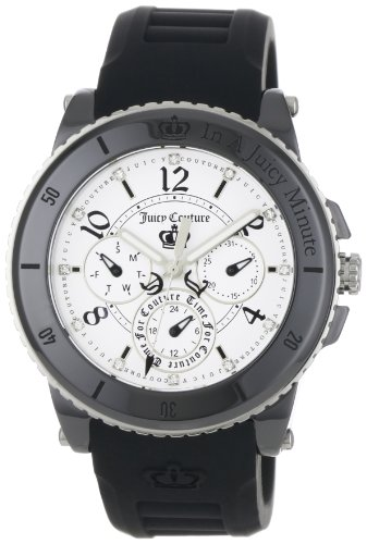Juicy Couture Women's 1900756 Pedigree Black Ceramic Chronograph Watch